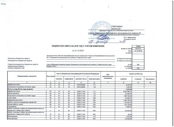 бюджет 003